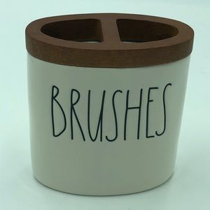 NEW Rae Dunn Toothbrush BRUSHES Holder